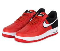 Sneaker AIR FORCE 1 '07 LV8 - SCHWARZ/ ROT