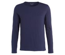 Langarmshirt - blau