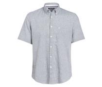 Halbarm-Hemd Relaxed Fit mit Leinen