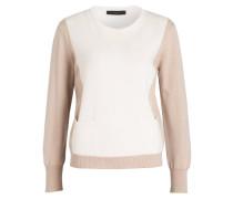 Cashmere -Pullover - ecru/ beige