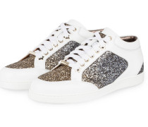 Sneaker MIAMI - weiss/ gold/ silber