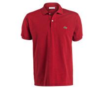 Piqué-Poloshirt Classic-Fit - rot