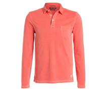 Jersey-Poloshirt - koralle