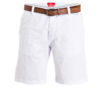 Shorts PLEK Loose-Fit - weiss
