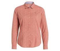Bluse GREZAN - rot/ beige