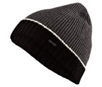 Mütze FRISK 01 - dunkelgrau/ schwarz