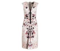 Kleid FLORIS - offwhite/ beige/ schwarz