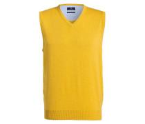 Pullunder - gelb