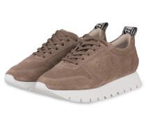 Plateau-Sneaker RISE - HELLBRAUN