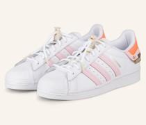 Sneaker SUPERSTAR - WEISS/ ROSA