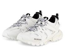 Plateau-Sneaker TRACK - WEISS/ SCHWARZ