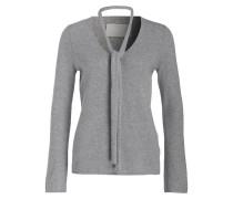 Cashmere-Pullover mit Schal