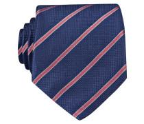 Krawatte - navy/ rot