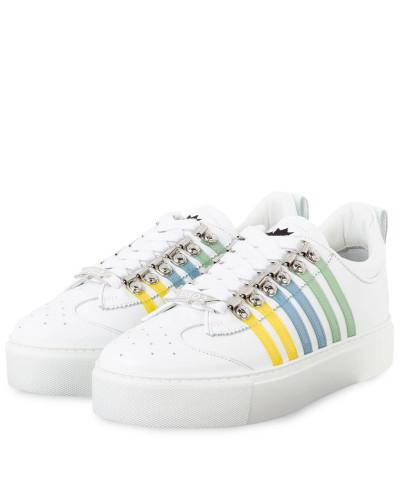 Plateau-Sneaker 251 - WEISS