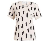 T-Shirt AGNETE - creme/ schwarz