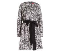Kleid KATIANA - schwarz/ beige