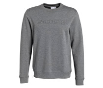 Sweatshirt mit monochromer Logo-Prägung