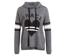 Pullover - grau/ wollweiss/ schwarz