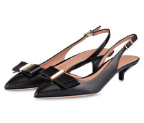 Slingpumps PIPING WAVE - schwarz