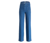 Flared-Jeans PHIL - denim blau
