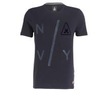 T-Shirt PARKER - marine maliert