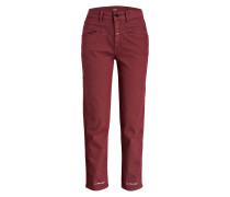 7/8-Jeans PEDAL PUSHER - bordeaux