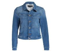 Jeansjacke - blau meliert