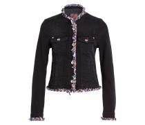 Jeansjacke - schwarz