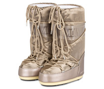 Moon Boots NYLON GLANCE - platin