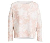 Sweatshirt - ecru/ rosa
