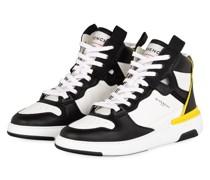 Hightop-Sneaker - SCHWARZ/ WEISS/ GELB