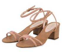 Sandaletten - ROSE/ BEIGE