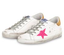 Sneaker SUPERSTAR - WEISS/ PINK