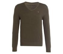 Pullover DAKSHIN - dunkelgrün