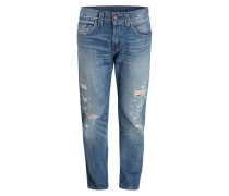 Destroyed-Jeans ROCCO Relaxed-Fit - blue