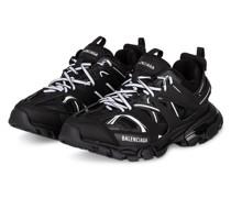 Plateau-Sneaker TRACK - SCHWARZ/ WEISS