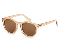 Sonnenbrille HEY MACARENA - apricot/ braun