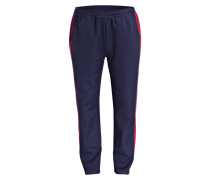 Sweatpants - navy/ burgunder