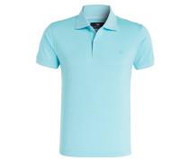 Piqué-Poloshirt - türkis