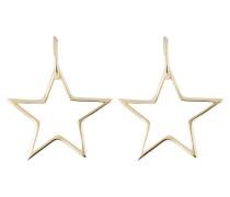 Ohrringe SKEWED STAR - gold