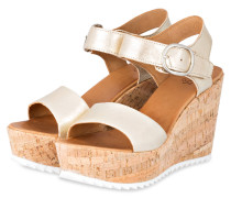 Wedges HELENA - gelb
