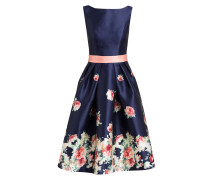 Cocktailkleid - navy/ rosa