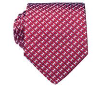 Krawatte - rot/ weiss/ blau
