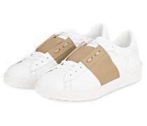 Sneaker - weiss/ sand