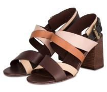 Sandalen - braun/ rosé/ beige