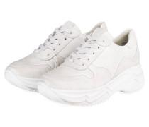 Plateau-Sneaker CITY - WEISS