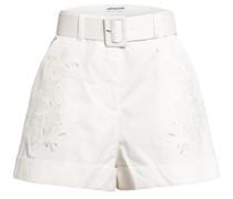 Shorts mit Lochspitze