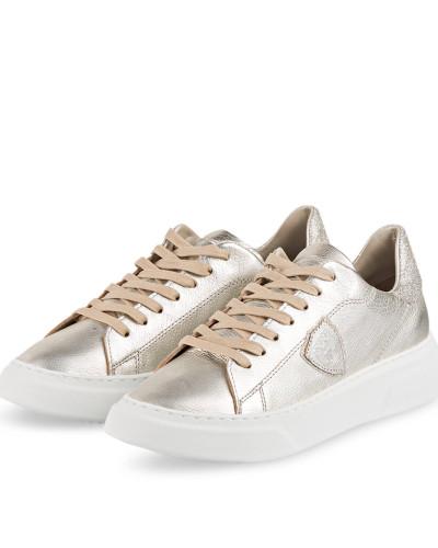 Sneaker TEMPLE - PLATIN/ BEIGE/ SILBER