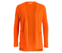 Cashmere-Strickhülle - orange