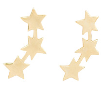 Ohrstecker THREE STAR STUD - gold